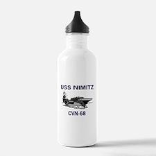 USS NIMITZ Water Bottle