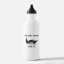USS CARL VINSON Water Bottle