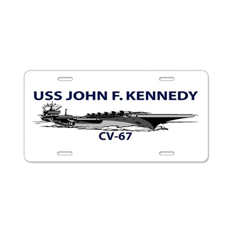 CV-67 Aluminum License Plate
