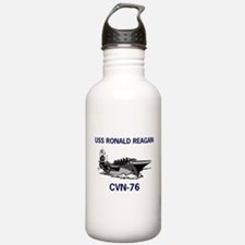 USS REAGAN Sports Water Bottle