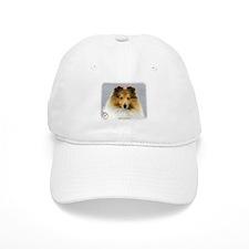 Shetland Sheepdog 9P033D-220 Baseball Baseball Cap