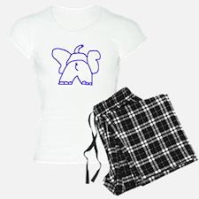 Blue Elephant Pajamas