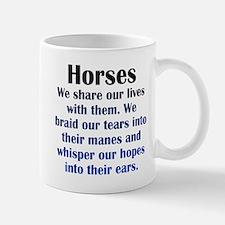 Importance of Horses Mug
