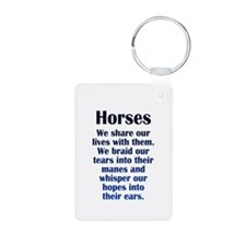 Importance of Horses Keychains