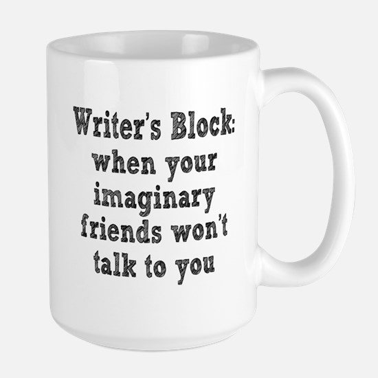 Writer's Block Large Mug