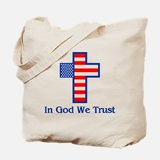 Funny God we trust Tote Bag