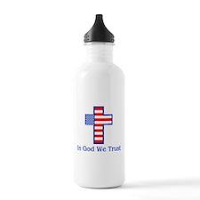 Unique Cross Water Bottle