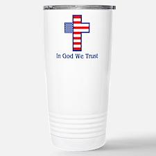 Cute In god we trust Travel Mug