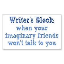 Writer's Block Decal