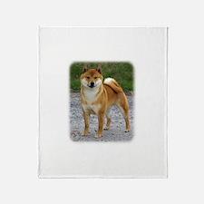 Shiba Inu 9T075D-028 Throw Blanket
