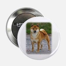 "Shiba Inu 9T075D-028 2.25"" Button (100 pack)"