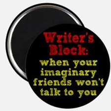 "Writer's Block 2.25"" Magnet (10 pack)"