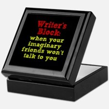 Writer's Block Keepsake Box