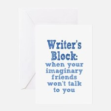 Writer's Block Greeting Card