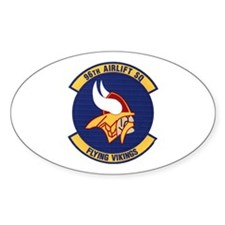 96th Airlift Squadron Oval Decal