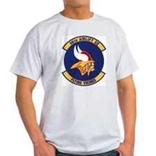 96th Airlift Squadron Ash Grey T-Shirt