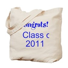 Congrats! Class of 2011 Tote Bag