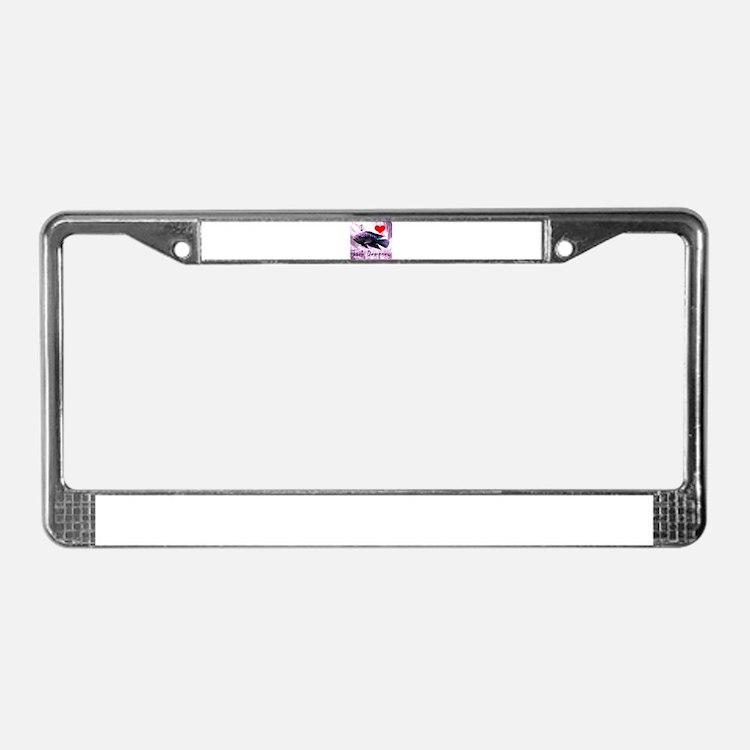 Cute Rocio License Plate Frame