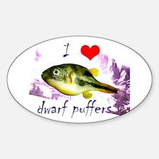 Dwarf puffer Decal
