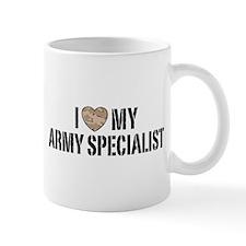 I Love My Army Specialist Mug