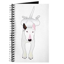 Cute Bull terrier Journal