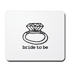 Bride To Be Bling Mousepad