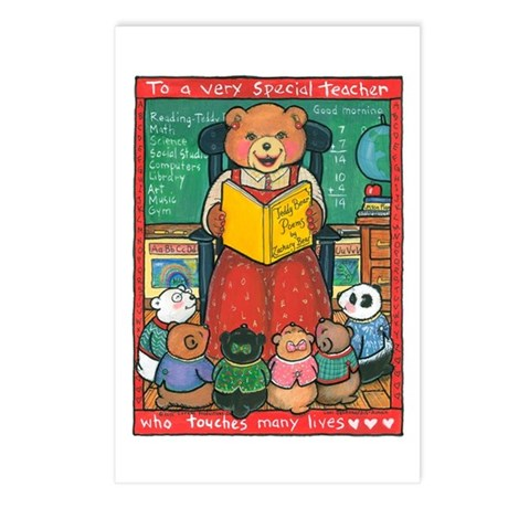 Special Teacher - Postcards (Package of 8)