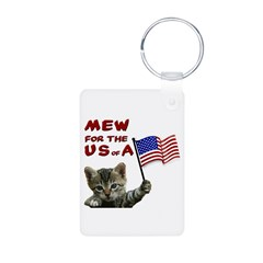 Fourth of July Keychains