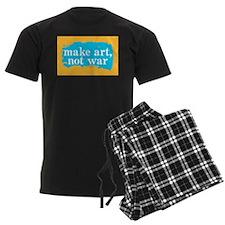 Make Art, Not War Pajamas