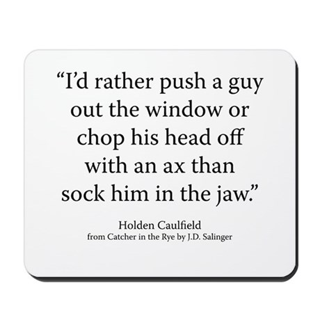 Catcher in the Rye Ch. _ Mousepad