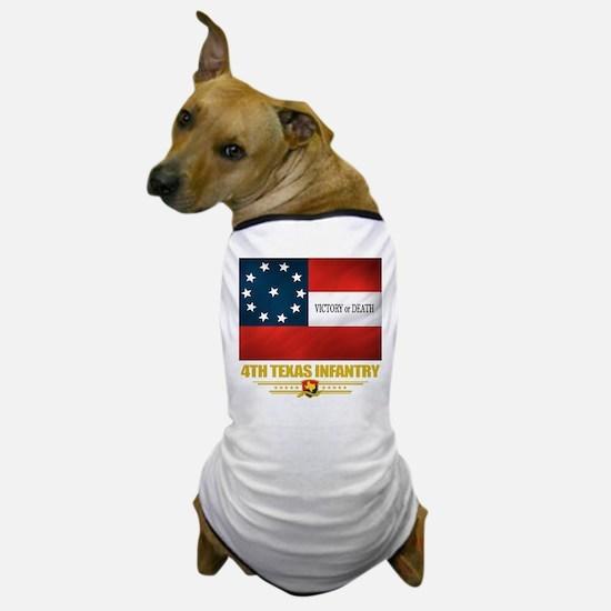 4th Texas Infantry Dog T-Shirt