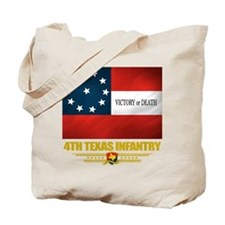 4th Texas Infantry Tote Bag