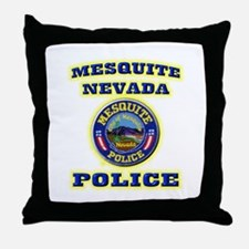 Mesquite Police Throw Pillow