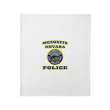 Mesquite Police Throw Blanket
