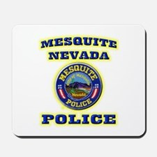 Mesquite Police Mousepad