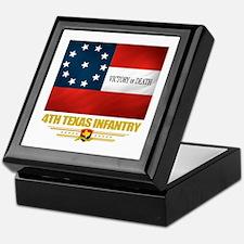 4th Texas Infantry Keepsake Box