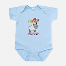 I Love Sheep Infant Bodysuit