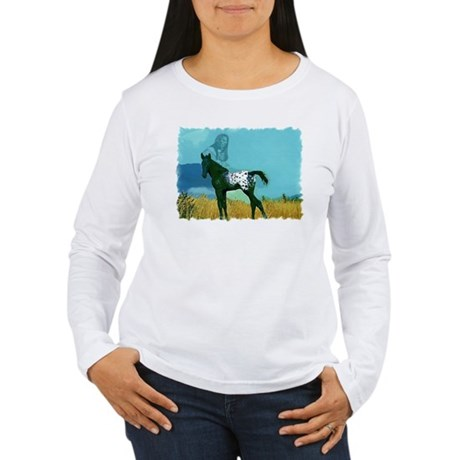 Nez Perce Pony Women's Long Sleeve T-Shirt