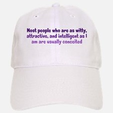 Humble Conceit Baseball Baseball Cap