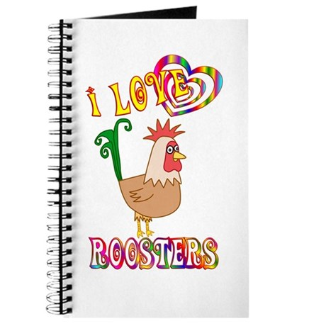 I Love Roosters Journal