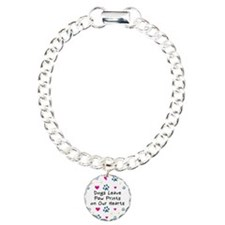 Dogs Leave Paw Prints Bracelet
