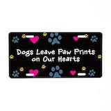 Dog License Plates
