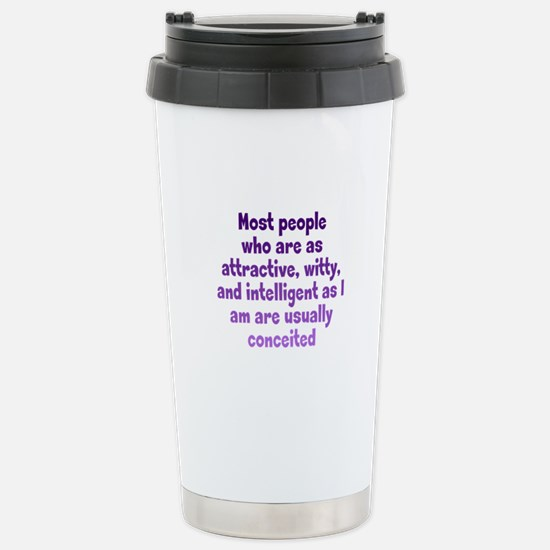 Humble Conceit Stainless Steel Travel Mug