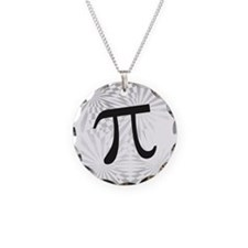 Retro Pi Necklace Circle Charm