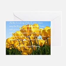 Irish Easter Blessing Greeting Card