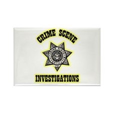 CSI Rectangle Magnet (10 pack)