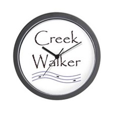 Creek Walking Wall Clock