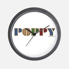 POPPY Wall Clock