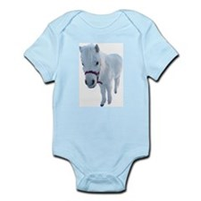 Cute Miniature horse Infant Bodysuit