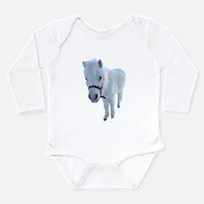Cute Mini pony Long Sleeve Infant Bodysuit